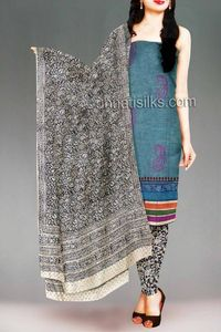 online shopping for celebrity cotton salwar kameez are available at www.unnatisilks.com