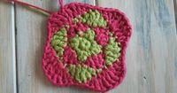 (crochet) How To - Squares in Squares Granny Square