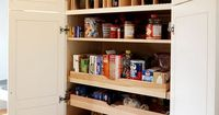 How To Deal With Pantry Pull Out Shelves // Live Simply by Annie