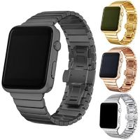38mm 42mm Stainless Steel link Bracelet band for Apple Watch series 4 3 2 1 $40.99