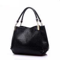 Alligator Leather Women Shoulder Bag $157.08