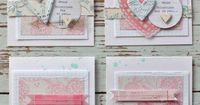 Mish Mash: Gossamer Blue February Guest....gorgeous valentines cards