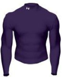 Under Armour Coldgear Mock Purple L Under Armour has been a sensation in the sporting world in the last 12 months. In most sporting fields you can see the distinctive logo peering through players jerseys. T (Barcode EAN = 0698611543445) http://w...