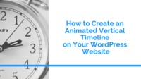 How to Create an Animated Vertical Timeline on Your WordPress Website