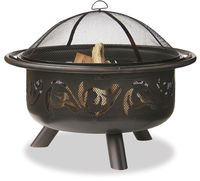36 IN WIDE OIL RUBBED BRONZE FIREBOWL WITH SWIRLS WAD900SP $159.99