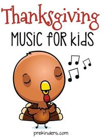 Here are some fun Thanksgiving songs for your Preschool to Kindergarten kids to enjoy during the holiday season! Music and movement songs for Thanksgiving.