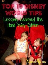 Walt Disney World planning tips!