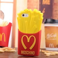 Moschino McDonald French Fries iPhone 6/6 Plus Case Red