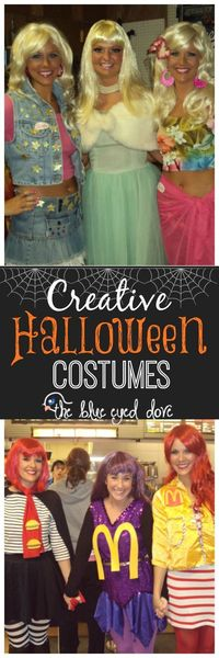 Don't spend money on a Halloween costume you will only wear once. Get creative and make your own! Check out these costumes for some inspiration.