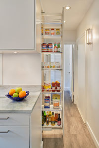Like this sort of built in pantry