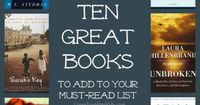 """Great Books for a Book Club (or just to read yourself) ~ check these out!... Personally I could not put down """"Room"""" or """"The Glass Castle"""" loved them!"""