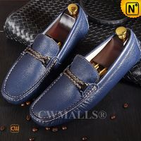 CWMALLS® New York Leather Driving Moccasins CW707132[Custom Made, Global Free Shipping]