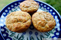 Citrus and Honey Whole Grain Muffins