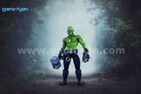 3D funifap Warrior Character Modeling By 3D Animation Studio