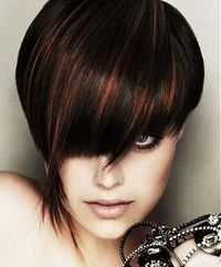 Brown Hair With Copper Highlights