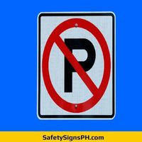 No Parking Sign Philippines