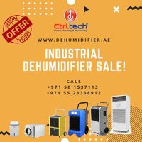 CtrlTech offering Industrial dehumidifier. 5% Off Sale in Dubai. #Dehumidifier #IndustrialDehumifier #UAE #SaudiArabia https://www.industrial-dehumidifier.ae