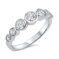 SALE A Perfect 3.98TCW Round Cut Russian Lab Diamond Engagement Ring $129.00