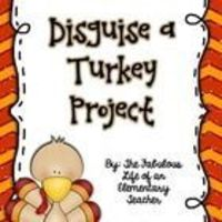 In this project, students will work with their family to disguise a turkey to prevent him/her from getting eaten for Thanksgiving! Once they return...
