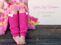 Crochet Leg Warmers Free Pattern from Domestic Bliss Squared :: Featured on Project Inspire{d} :: AnExtraordinaryDay.net