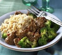 When I think of beef and broccoli, I always think of traditional Chinese stir fry. But this tasty dish is made in a slow cooker or crock pot, and offers a whole