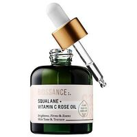"Biossance Squalane + Vitamin C Rose Oil: ""I have used this for about a week now and my skin is A-M-A-Z-I-N-G! Not only does it feel softer and brighter, the Vitamin C has helped to fade my dark spots and clear up any troubled areas on my skin. It sme..."