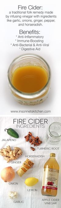 Fire Cider is a traditional folk remedy that boosts immunity, aids in digestion, and reduces inflammation. Follow this tutorial to make it at home!