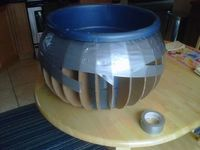 How to make a Large Cauldron : FREAK'N AMAZING!!! You MUST go to the site and follow the steps!!