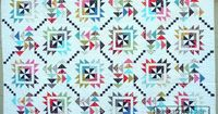 Main Street Quilt Pattern made by Jeannine Robinson