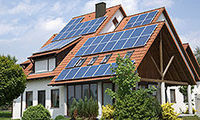 I think that the solar panels would and a nice touch to a home. They add a futuristic touch in my opinion.