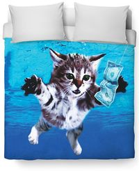 Cat Cobain Duvet Cover $120.00