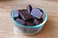 pb cups using an ice cube tray
