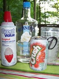 Man That Stuff Is Good!: Whipped Cream Vodka Creamsicle