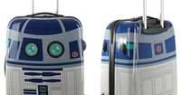 This tribute to Star War's most beloved droid appeared on Salvador Bachiller luggage site recently, but now it is apparently gone. My money is on the �€˜forces�€ of Lucas' lawyers, sadly. There are many other beautiful and cle...