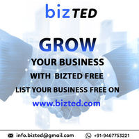 Grow your business with bizted . Bizted is one of the fastest growing platforms to buy and sell products online. Exceptional service is our goal at Bizted