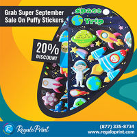 Grab Super September 20% Sale on Puffy Stickers by RegaloPrint.jpg