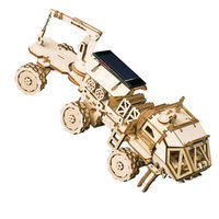 3D Building Kits, DIY Models,Space Hunting Game,Wooden Puzzle $43.00