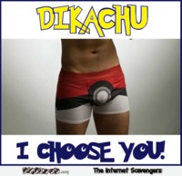 Dikachu I choose you adult humor 
