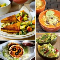 Healthy Mexican food recipes How to make retro, pastel-tipped sunglasses Fast and easy morning meals Carrie and Big's Sex and the City wedding