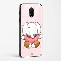 Elephant Yoga Glass Case Phone Cover from Myxtur