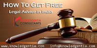 knowledgentia is an online platform that serves free legal advice in India to connect clients with qualified lawyers in any city and for any court in India. 