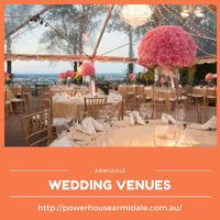 Wedding hire- Powerhouse Armidle