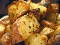 Checkout this quick and easy Ranch Roasted Red Potatoes Recipe at LaaLoosh.com! Flavored with tangy Ranch seasoning, this delicious red potatoes recipe has just