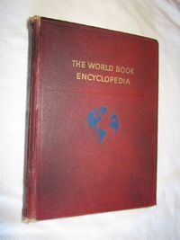 The World Book Encyclopedia Volume 1 (1959) for sale at Wenzel Thrifty Nickel ecrater store