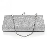 Woman Shiny Glitter Evening Clutch Purse $23.99