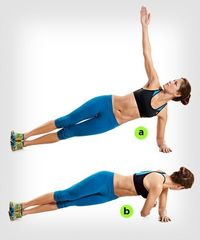 This plank variation excerise can make your abs workout even more effective!