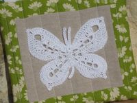 Crocheted Butterfly Pattern Nero's Post and Patch...