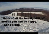 The beauty around you quote