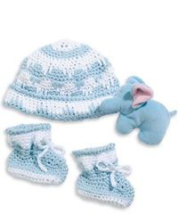 Crochet Baby Hat and Booties Pattern- free crochet patterns