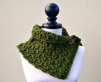 Hand Crocheted Cowl The Lucienne Cowl by pixiebell